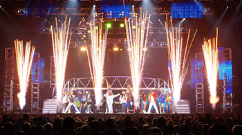 Stage Pyrotechnics